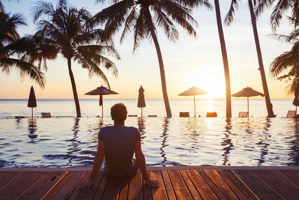 海外旅行でのビーチリゾート