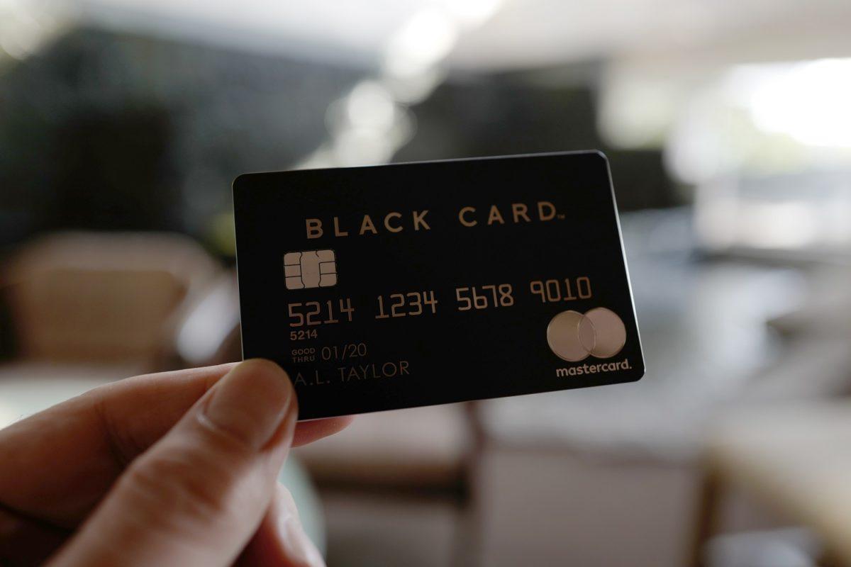 ラグジュアリーカード ブラック (5)