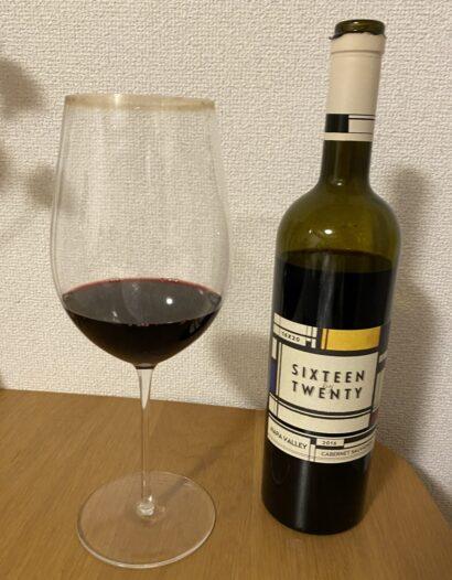 ラグジュアリーカードのポイントで購入した赤ワイン(シックスティーン・バイ・トゥエンティ)