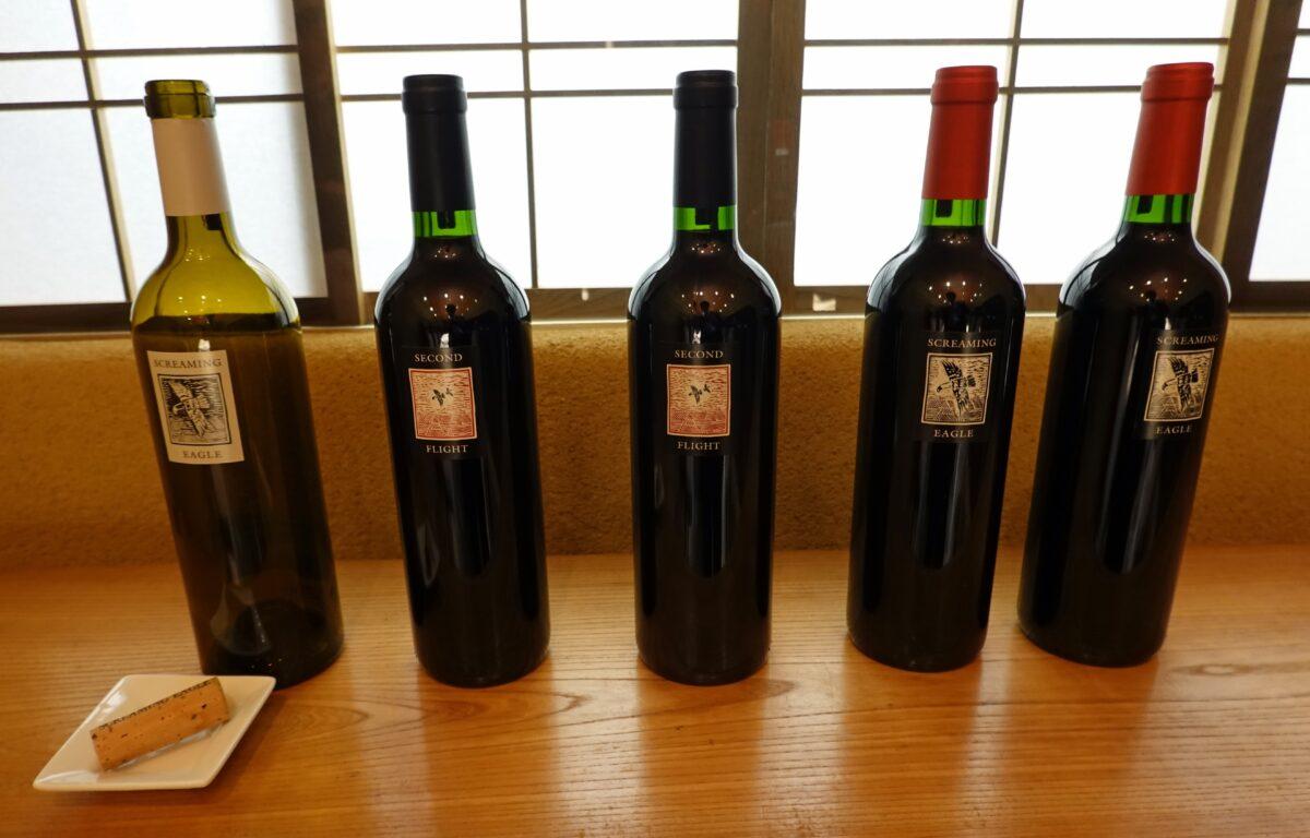 スクリーミンイーグル・ディナーイベントの提供ワイン
