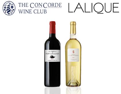 「ラリック社」と「ザ・コンコルド・ワインクラブ」の合同ワインテースティングのイベント