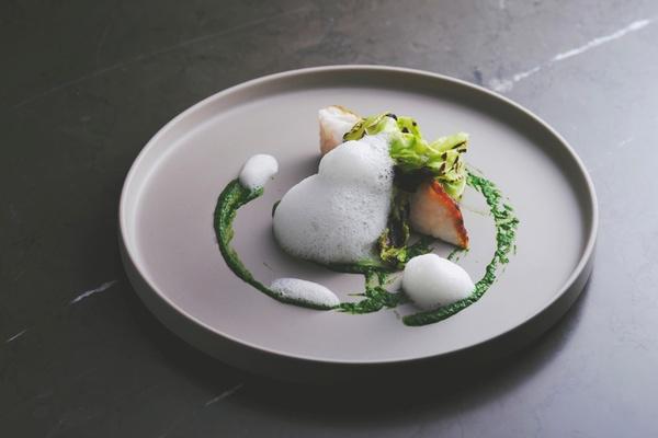 フォーシーズンズホテル京都のブラッスリーの料理 (1)